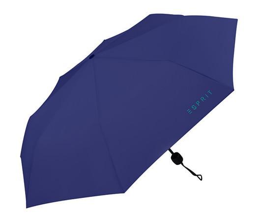 Esprit Skládací mechanický deštník Mini Basic Deep Ultramarine