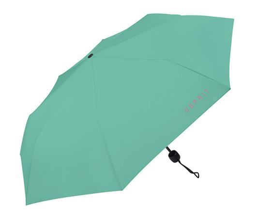 Esprit Skládací mechanický deštník Mini Basic Agate Green
