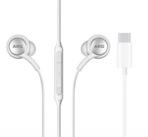 GH59-15107A Samsung AKG Stereo HF Type C White (Bulk)