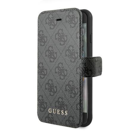 GUFLBKSI84GG Guess 4G Pouzdro pro iPhone 7/8/SE2020 Grey