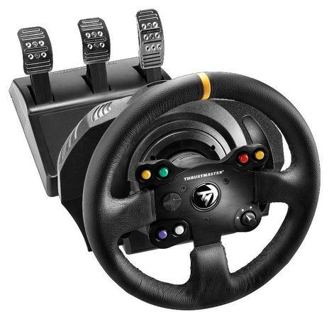 Thrustmaster Sada volantu a pedálů TX Leather Edition pro Xbox One, One X, One S a PC