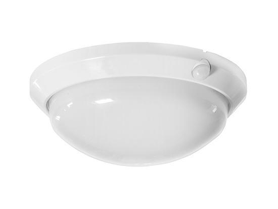 Panlux OS-60/B OLGA S přisazené stropní a nástěnné kruhové svítidlo se senzorem 60W bílá