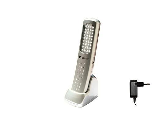 Panlux ALD-36/CH SILVERSTONE 36 přenosné profi LED svítidlo 36 LED