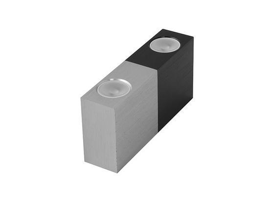 Panlux V2/BS VARIO DUO dekorativní LED svítidlo černo-stříbrná (aluminium) - studená bílá