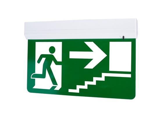 Panlux EUROPA LED KOMPLET nouzové svítidlo s piktogramem schody nahoru