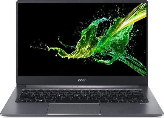 "Ntb Acer Swift 3 (SF314-57-767R) i5-1065G7, 16GB, 1024 GB, 14"", Full HD, bez mechaniky, Intel Iris Plus Graphics, BT, FPR, CAM, W10 Home - šedý, NX.HJGEC.003"