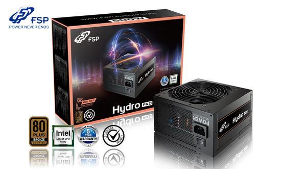 FORTRON zdroj HYDRO PRO 500 500W / ATX / akt. PFC / 120mm fan / 80PLUS Bronze, PPA5008100