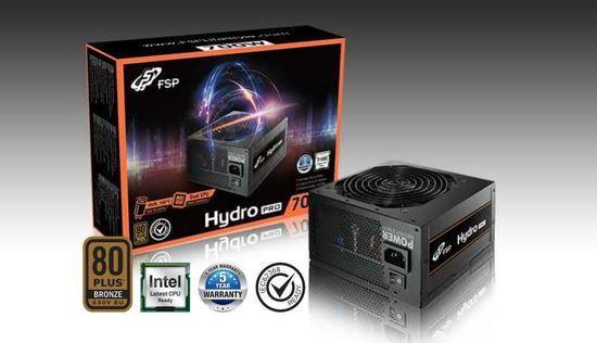 FORTRON zdroj HYDRO PRO 600 600W / ATX / akt. PFC / 120mm fan / 80PLUS Bronze, PPA6005600
