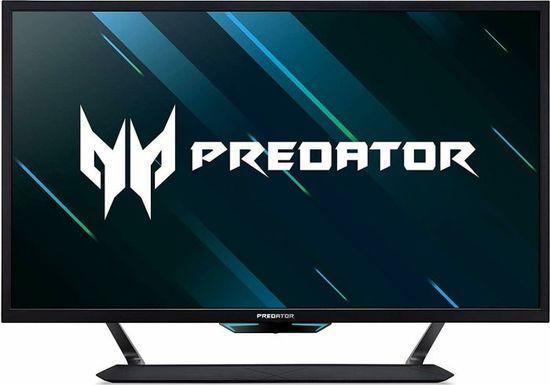"43"" LCD Acer Predator CG437KP - VA,UHD, 1ms, 144Hz, 750cd/m2, 100M:1, HDMI, USB, repro, vesa, UM.HC7EE.P01"