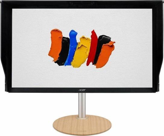 "27"" Acer ConceptD CP7271KP - IPS, 4K, 4ms, 600cd/m2, 16:9, HDMI, DP, USB, DeltaE, HDR, G-Sync, výška"