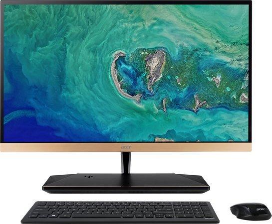 "Acer Aspire S24-880 AIO 23,8"" FHD LED/i7 -8550U/8GB/2TB+16GB Optane/WebCam/Repro/USB 3.1 type C/Qi wireless charger/W10 Home, DQ.BA8EC.001"