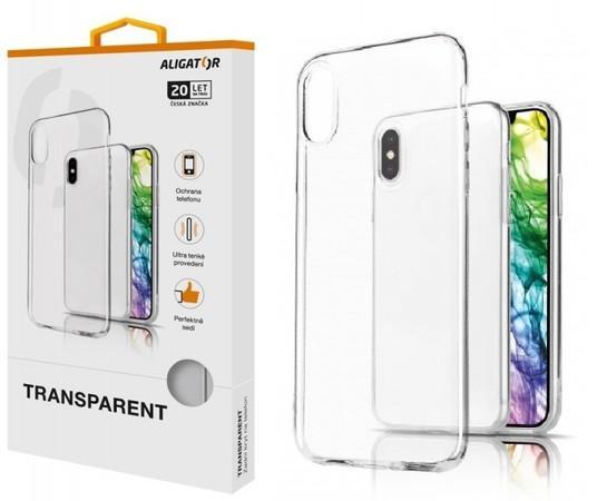 ALIGATOR Pouzdro Transparent Xiaomi Redmi Note 8T