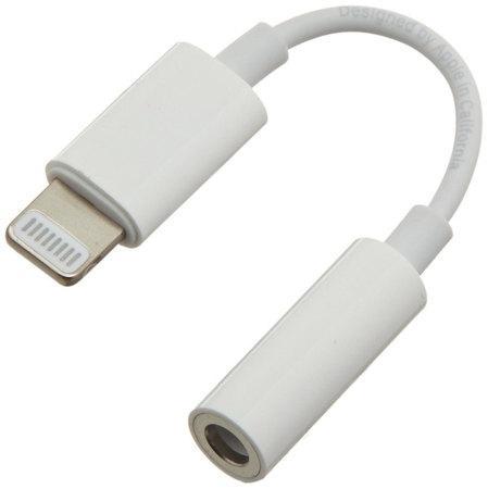 PremiumCord Apple Lightning audio redukční kabel na 3.5 mm stereo jack/female, bílý, kipod51