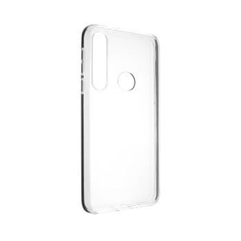 Pouzdro FIXED TPU gelové Motorola One Macro, čiré