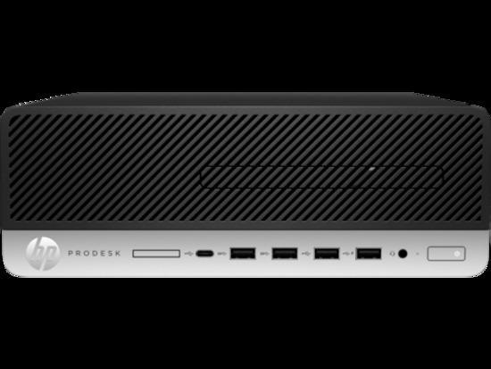 HP PC ProDesk 405G4 SFF/Ryzen 3 Pro 2200G/1x4 GB/SSD 128GB/Radeon RX Vega 8/DVDRW/180W/2xDP+VGA/Win10PRO, 9DP13EA#BCM