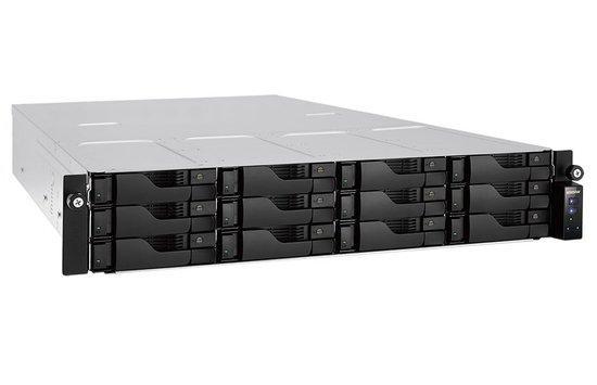 "Asustor NAS AS6212RD/RAIL KIT / 12x 2.5""/3.5"" SATA III/ Intel Celeron 1.6GHz/ 4GB/ 4x GbE/ 4x USB 3.0/ HDMI/ red. zdroj"