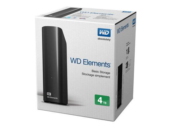 WD Elements 4TB, USB3.0, WDBWLG0040HBK