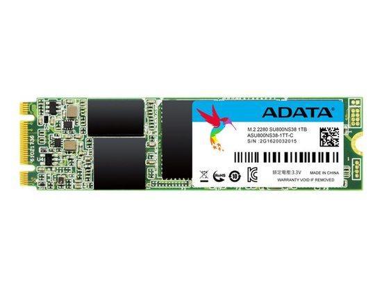 Adata SU800 SSD M.2 2280 1TB, read/write 560/520 MBps, 3D NAND Flash, ASU800NS38-1TT-C