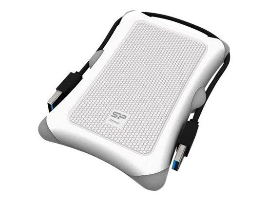 SILICON POWER Armor A30 1TB, USB3.0, SP010TBPHDA30S3W, SP010TBPHDA30S3W