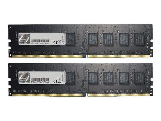 G.Skill DDR4 16GB (2x8GB) 2666MHz CL19 1.2V, F4-2666C19D-16GNT