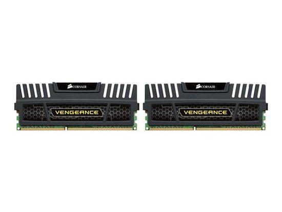 Corsair Vengeance Black DDR3 16GB 1600MHz CL9 (2x8GB) CMZ16GX3M2A1600C9, CMZ16GX3M2A1600C9