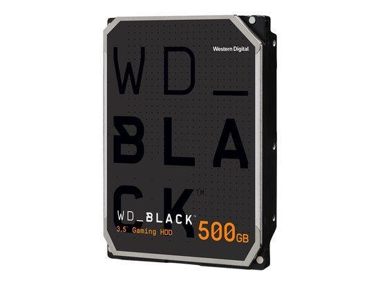 WD Black 5003AZEX 500GB HDD, SATA/600, 7200RPM, 64MB cache