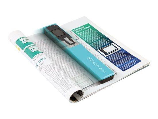 IRIS skener IRISCan Book 5 Turquoise - přenosný skener, 458741