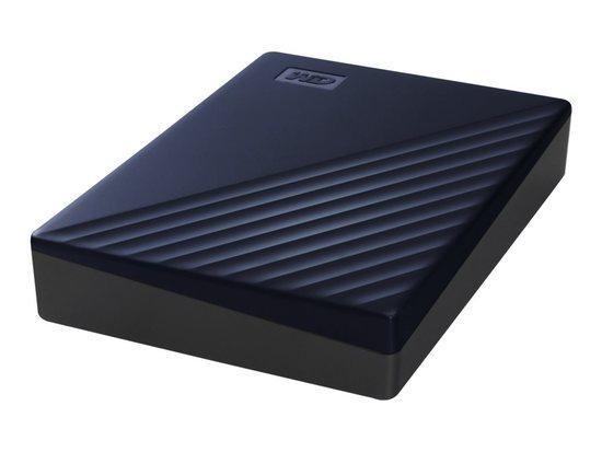 WD, HDD EXT My Passport f Mac 5Tb Blue Wwide, WDBA2F0050BBL-WESN