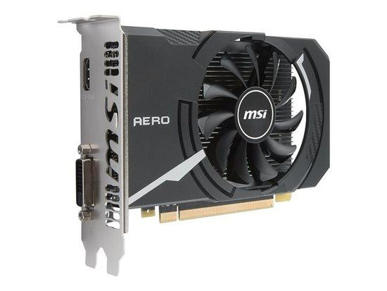 MSI GeForce GT 1030 AERO ITX 2G OC, 2GB, OC/SL-DVI-D/HDMI/ATX/FAN, GT 1030 AERO ITX 2G OC
