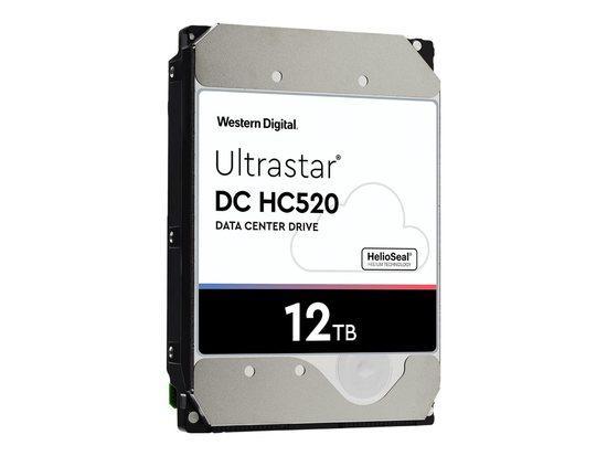 WDC 0F30146 WD Ultrastar DC HC520, 3.5, 12TB, SATA/600, 7200RPM ~ WD121KRYZ, 0F30146