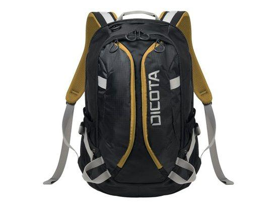 "Batoh Dicota D31048 15,6"" black/yellow, D31048"