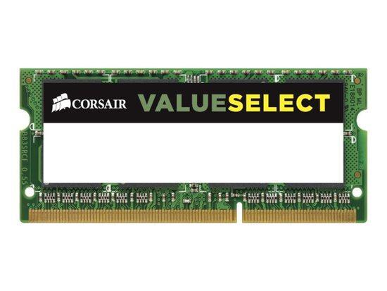 Corsair Value SODIMM DDR3 4GB 1600MHz CL11 CMSO4GX3M1C1600C11, CMSO4GX3M1C1600C11