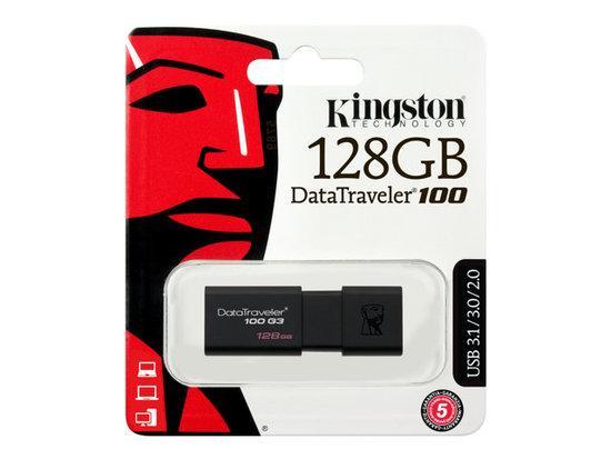 Kingston DataTraveler 100 G3 128GB DT100G3/128GB, DT100G3/128GB