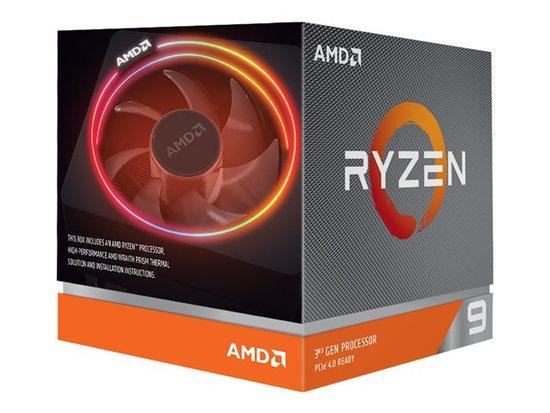 AMD Ryzen 9 12C/24T 3900X (3.8GHz,70MB,105W,AM4) box + Wraith Prism with RGB LED cooler, 100-100000023BOX