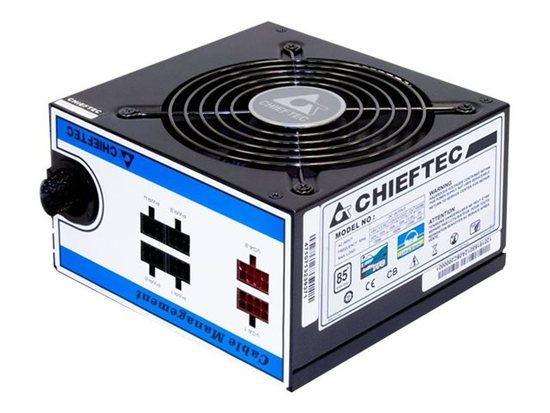 CHIEFTEC zdroj 750W CTG-750C MODULAR s aktivnim PFC, ventilátor 120 mm, CTG-750C
