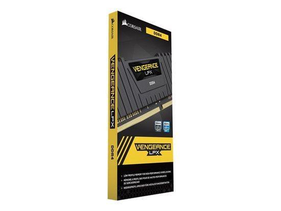 CORSAIR 8GB DDR4 3000MHz VENGEANCE LPX BLACK PC4-24000 1.35V CL16-20-20-38 XMP2.0 (8GB s chladičem