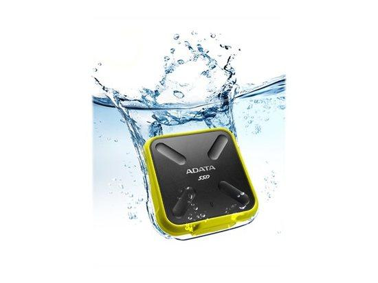 Adata SSD SD700 1TB, 440/430MB/s, USB3.1, yellow