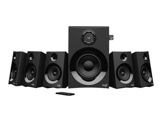 Logitech audio system 5.1 Z607 Surround Sound with Bluetooth - BLACK - BT - PLUGC - EU
