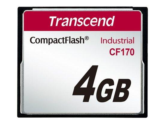 Transcend CompactFlash4GB High Speed CF170 TS4GCF170