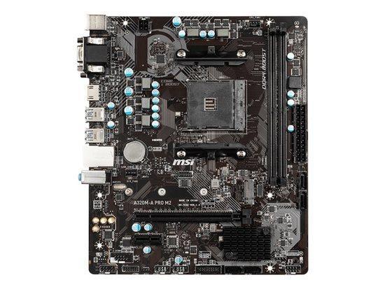 MSI A320M PRO-M2 AM4, DDR4, 2x PCI-E x1, 4xSATAIII, VGA, HDMI, mATX, A320M PRO-M2
