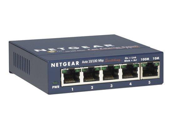 Netgear 5x 10/100 Mbps Fast Ethernet Switch power adapter, FS105-300PES