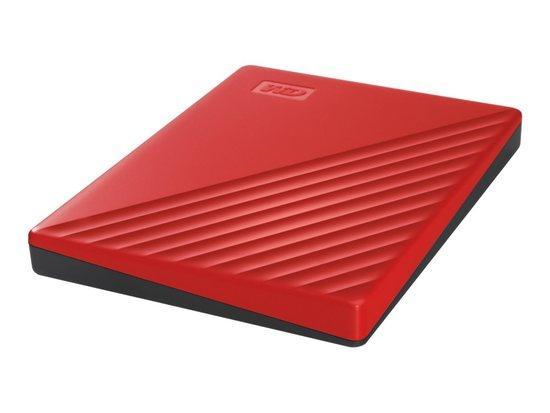 WD, HDD EXT My Passport 2Tb Red Worldwide, WDBYVG0020BRD-WESN