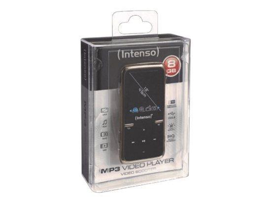 INTENSO 3717460 Intenso MP3 přehrávač 8GB Video Scooter LCD 1,8 černý