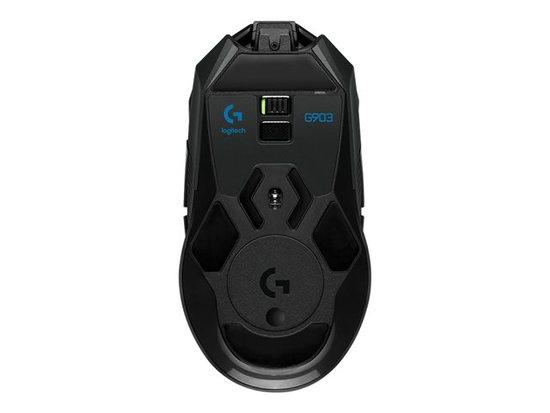 Logitech Gaming mouse G903 LIGHTSPEED™ Wireless Gaming Mouse (HERO16K sensor), 910-005672