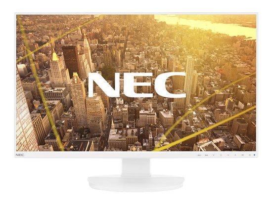 Monitor NEC EA271F 27inch, panel IPS, FullHD, DP/HDMI/VGA, white
