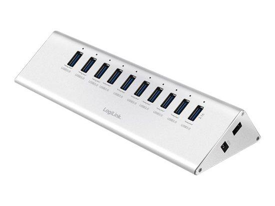 LOGILINK - USB 3.0 High Speed Hub 10-Port + 1x Fast Charging Port, UA0229