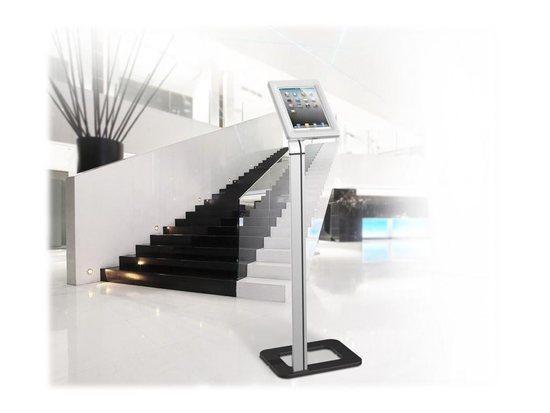 Techly Univerzální podlahový stojan pro iPad a tablety 9.7``-10.1`` se zámkem
