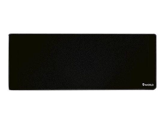 4W Herní podložka pod myš 90x40x0.4cm XXL černá - 10291