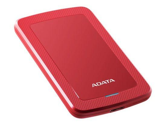 "HDD ext. 2,5"" ADATA HV300 2TB - červený, AHV300-2TU31-CRD"