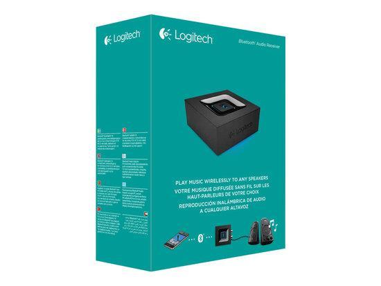 Logitech Bluetooth Audio Adapter/ RCA 3,5 mm/ Černá, 980-000912